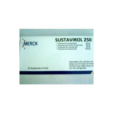 Sustanon 250 10ampoules 250mg/amp