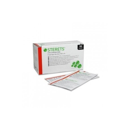 STEREST PRE INJECTION SWABS, HANDS, GYM x 30